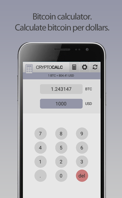 Crypto Currency Bitcoin Calculator Android 0a1 Eu Zero One Developer S